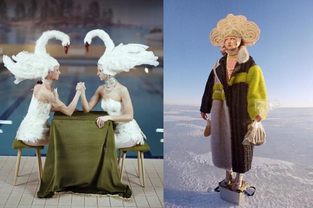 Фотохудожница хочет показать русскую культуру по-новому.