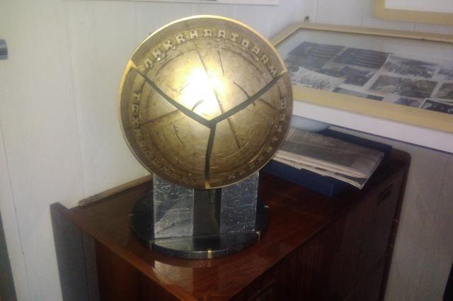 Макету памятника в Новокузнецке место нашлось только в музее.