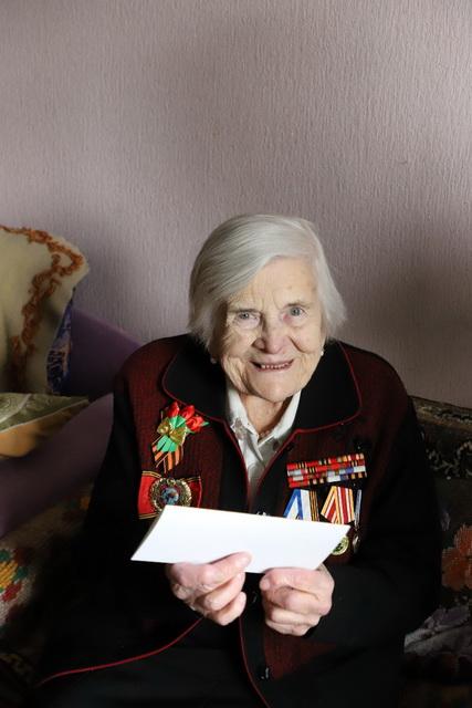 Ирина Яровая поздравила камчатских ветеранов.