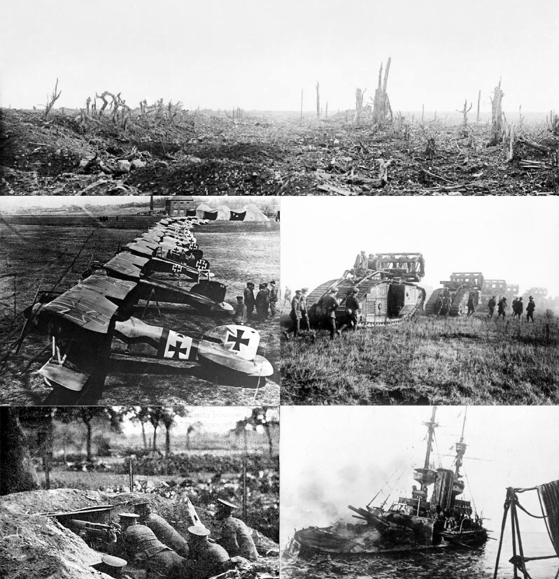 Вооружение Первой мировой войны