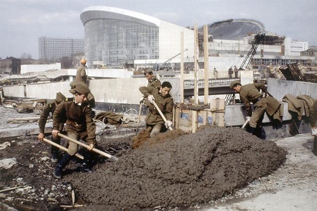 Строительство СК Олимпийский