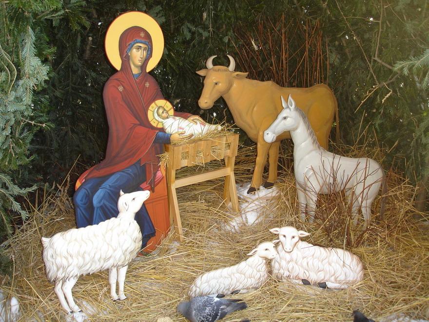 Сегодня рождественские вертепы в домах - большая редкость.