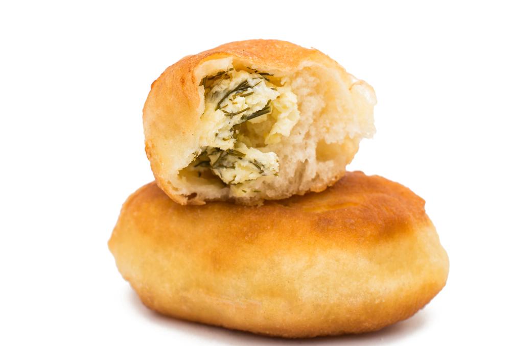 Пирожки с печеной картошкой