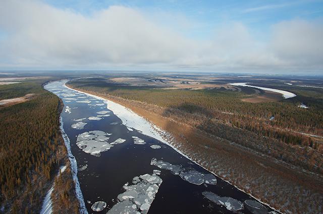 Ландшафт Республики Коми.