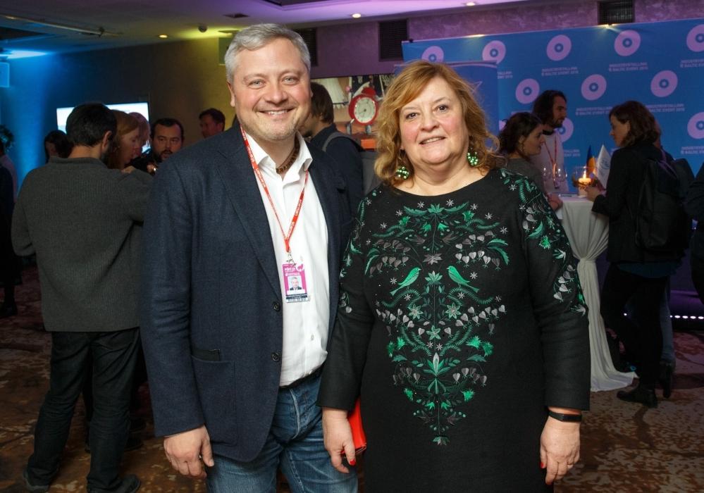 Игорь Янковский и Тийна Локк