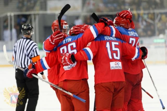Игра закончилась со счетом 1:0 в пользу российской сборной.
