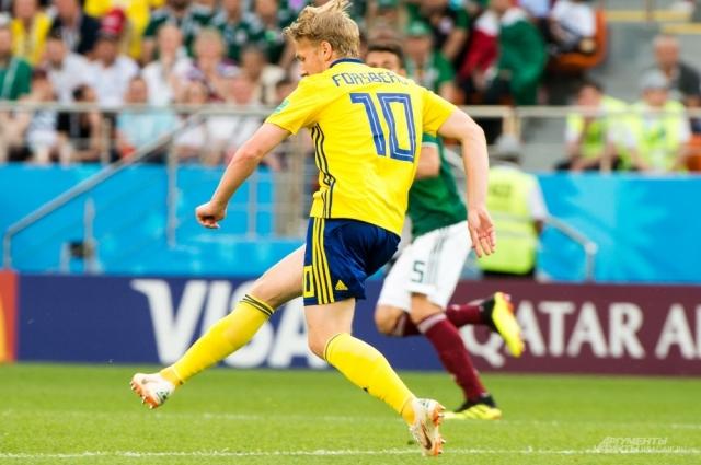 Эмиль Форсберг - надежда сборной Швеции.
