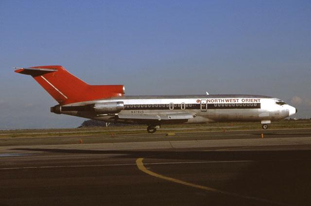 Boeing 727-51 авиакомпании Northwest Airlines, идентичный захваченному.