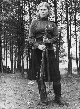 Роза Шанина, 1944 год.