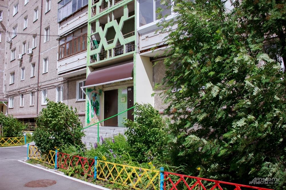 Дом по улице Космонавтов, 9 - точка столкновения советского прошлого и российского настоящего.