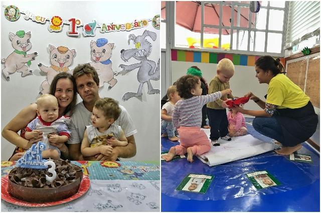 В Бразилии очень любят детей.