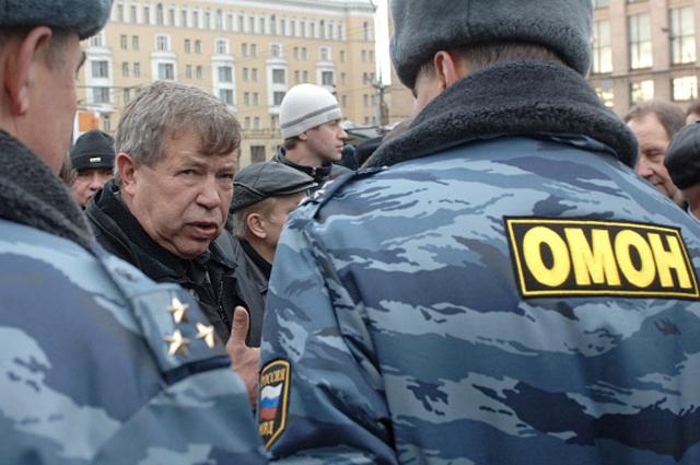 Виктор Анпилов. 2006 год