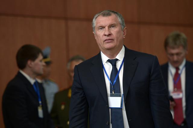 Председатель правления, заместитель председателя совета директоров ОАО Роснефть Игорь Сечин