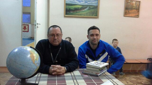 Евгений Лебедев и Сергей Сорокин