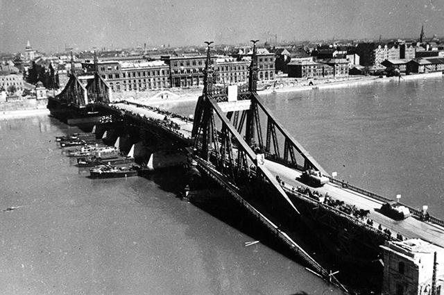 Будапешт, Дунай, Вторая мировая война