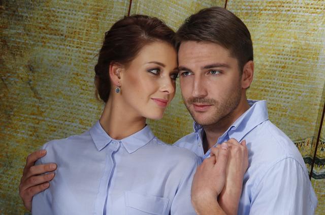 Любава Грешнова и Михаил Пшеничный.