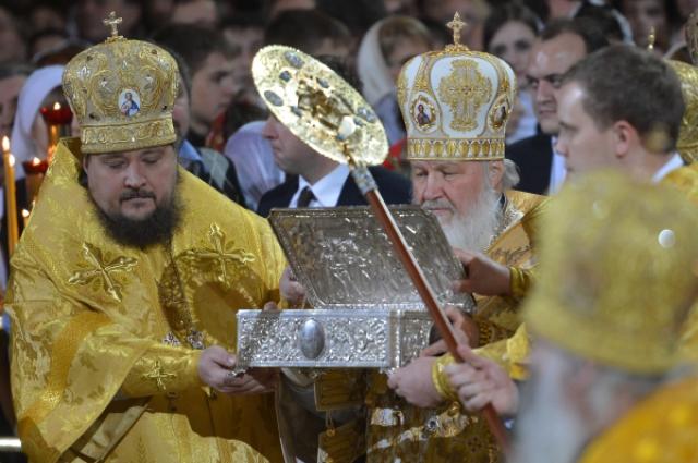 Патриарх Кирилл и Дары волхвов
