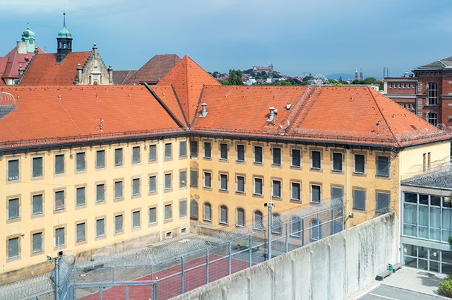 Нюрнбергская тюрьма.