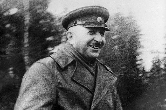 Великая Отечественная война 1941-1945 гг. Иван Христофорович Баграмян (1897-1982), генерал-майор.