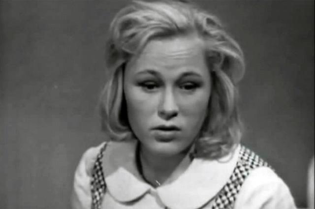 Раиса Рязанова в фильме «Гуля Королева», 1968 год.