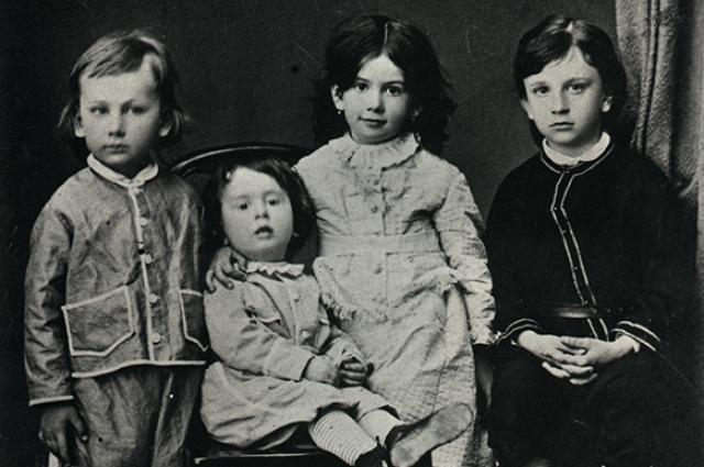 Ф.И. Ходасевич. Дети Л.Н. Толстого. 1870 г.