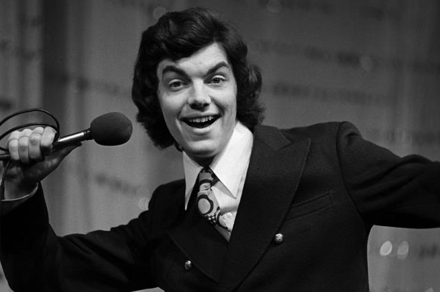 Эстрадный певец и актер Сергей Захаров. 1974 г.