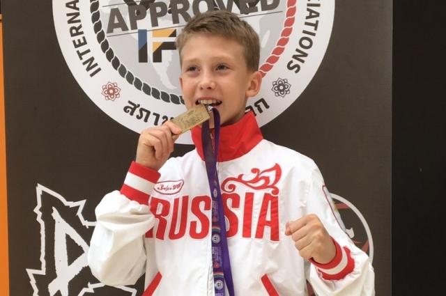 Ян Янковский отпросился из школы, чтобы выиграть золотую медаль.