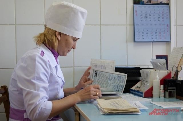 Медсестра районной поликлиники Светлана Прокина