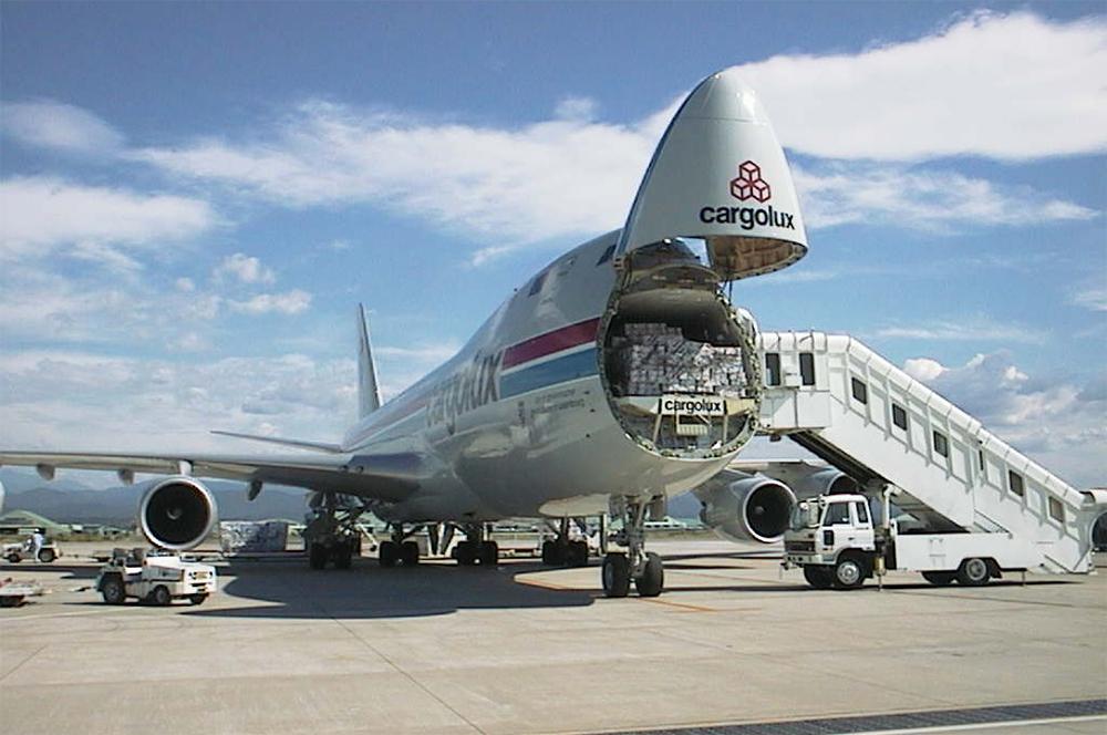 747-400F авиакомпании Cargolux.