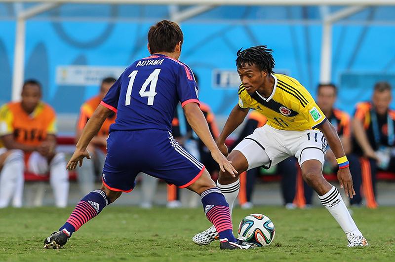 Матч ЧМ-2014 Япония — Колумбия