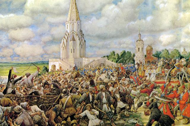 Медный бунт. 1662. Художник Лисснер Эрнест, 1938