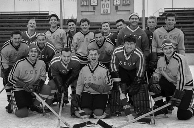Сборная СССР по хоккею 1961 года