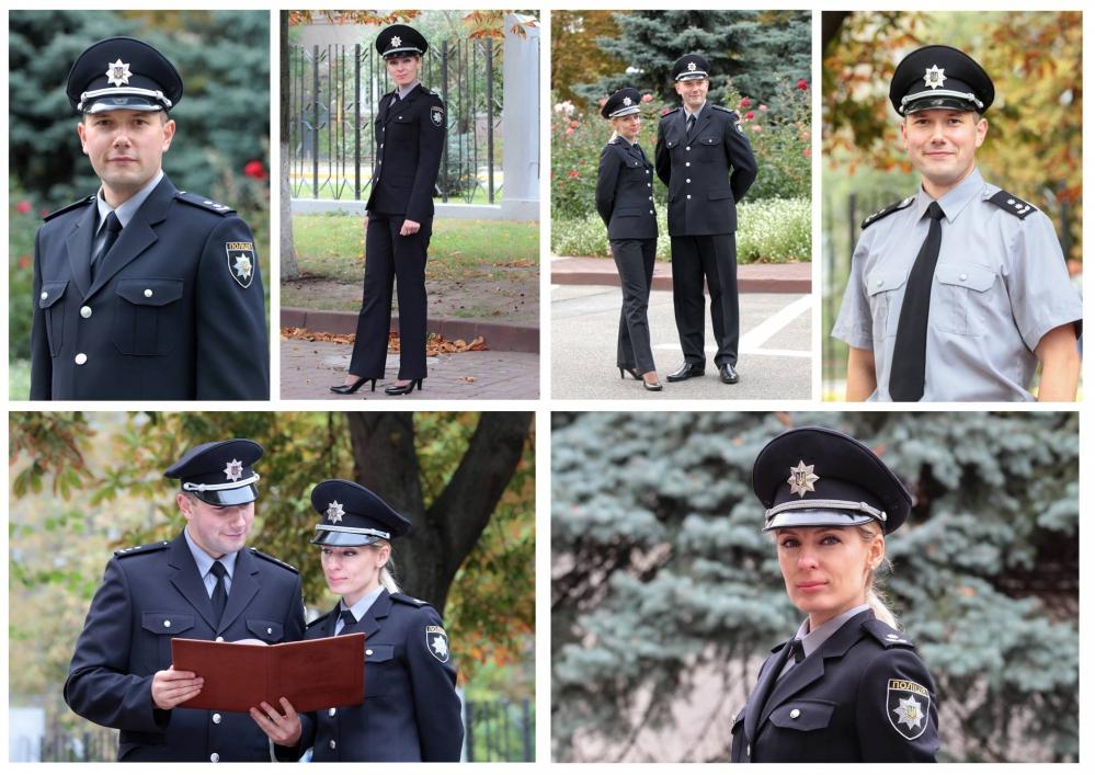 Новая официальная форма Национальной полиции