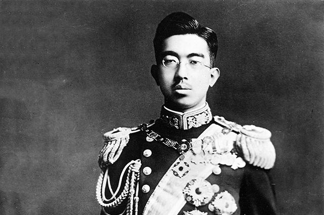 Император ХироÑито, 1928 год.