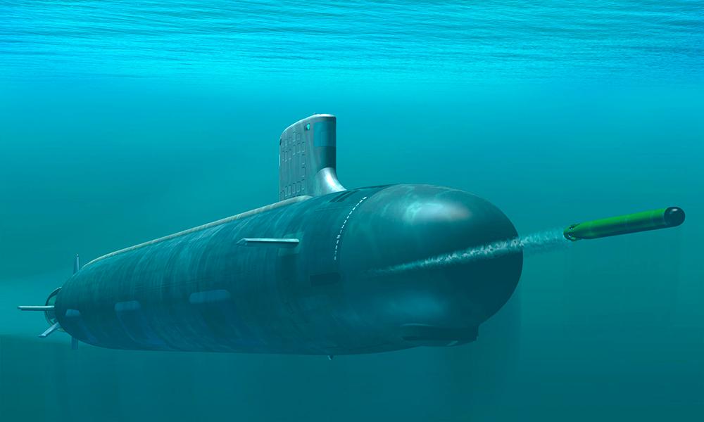 подлодка ВМС США «Иллинойс».