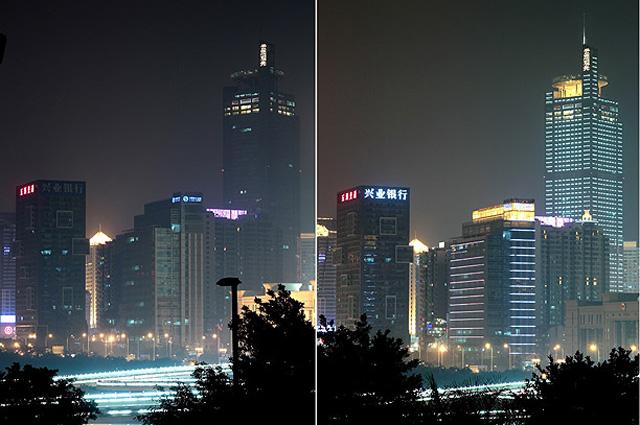 Час Земли в Китае