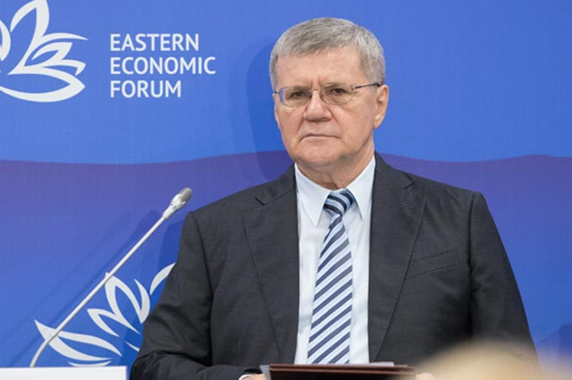 Генпрокурор России Юрий Чайка.