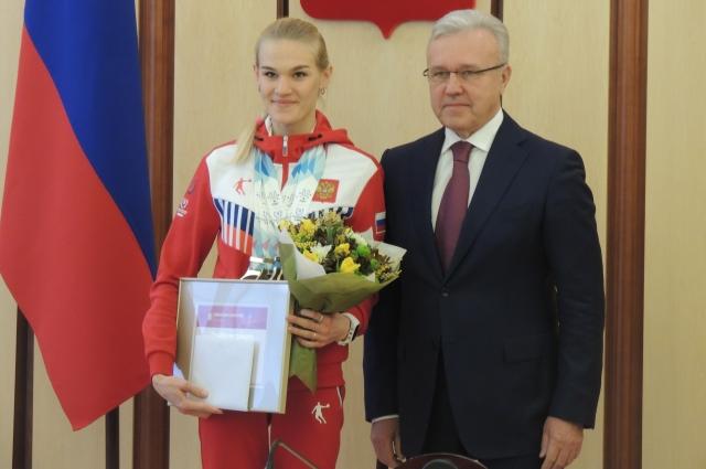 Мария Вяткина на Универсиаде завоевала больше всего наград в копилку Красноярского края.
