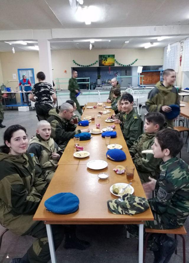 Военно-полевые сборы, организованные с участием НКО.