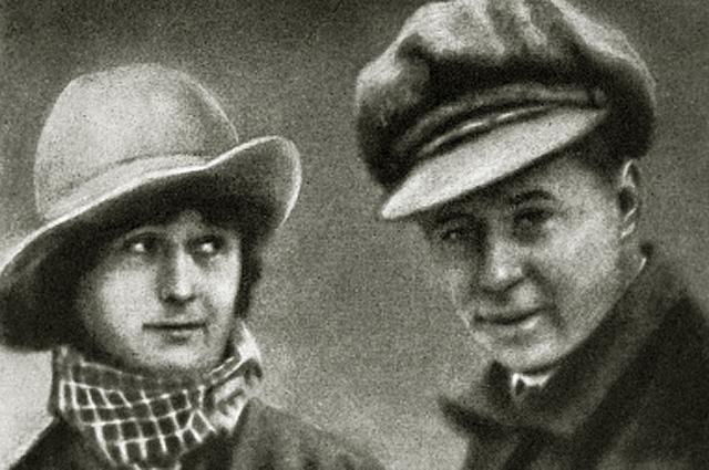 Сергей Есенин и Айседора Дункан. 1922 год