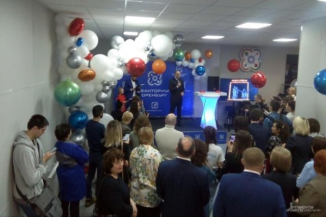 Губернатор отметил, что открытие технопарка – только первая ступень к новому образованию.