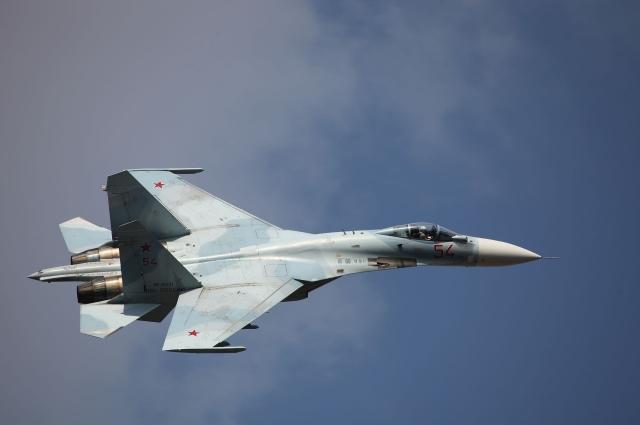 Су-27СМ3 ВВС России, 2012 год.
