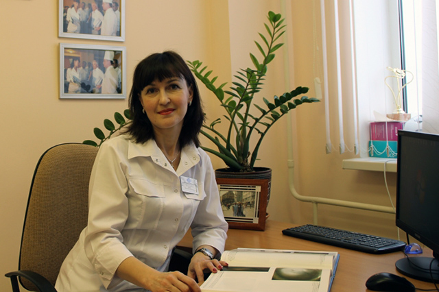 Офтальмолог Виктория Башук