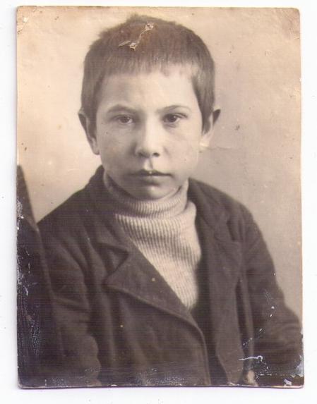 Школьник Иван Пургин