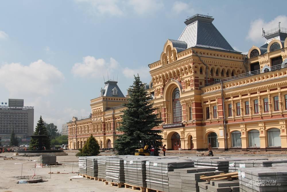 Ярмарочная площадь будет благоустроена к августу 2021 года.