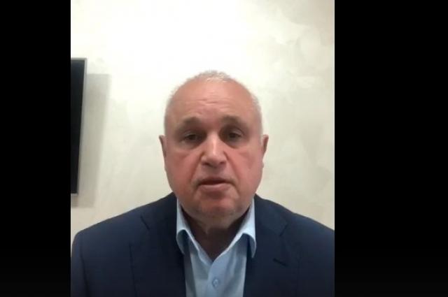 Губернатор Кузбасса записал обращение в своём телеграм-канале.