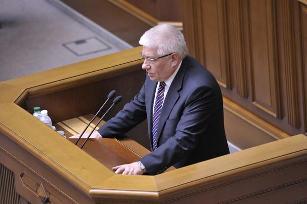 Михаил Чечетов. Заседание Верховной Рады Украины 18 апреля 2014 года