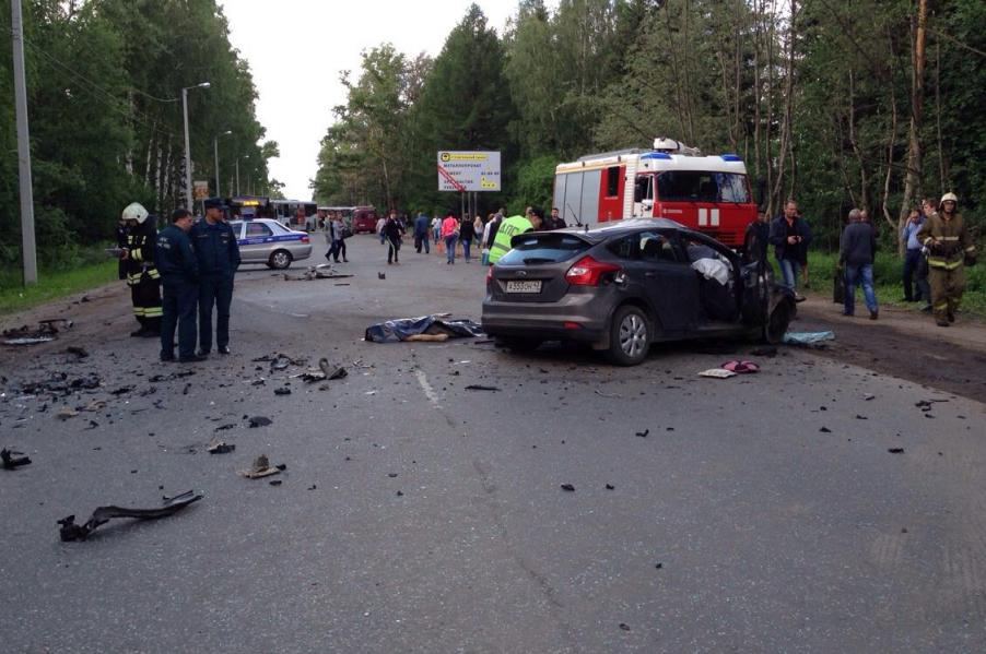 В ДТП с автобусом погиб человек.