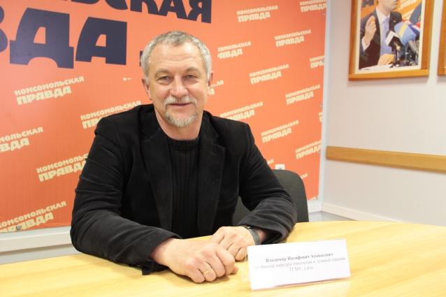 Владимир Иосифович Апанасевич, профессор кафедры онкологии и лучевой терапии ТГМУ, д.м.н.
