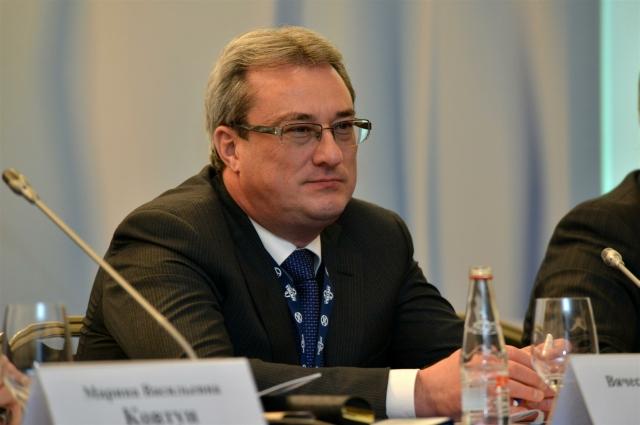Задержанный губернатор Вячеслав Гайзер